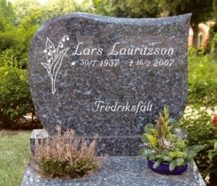 Ljus Labrador granit, helpolerad